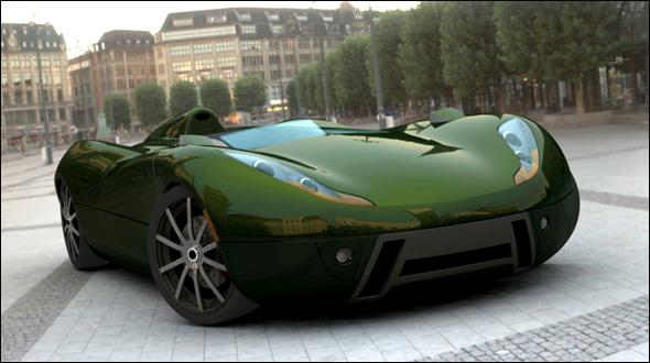 سليماكس سيارة اختبارية تصميم ثلاثة
