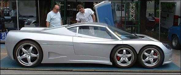 أغرب سيارة في العالم..!! B06929183427