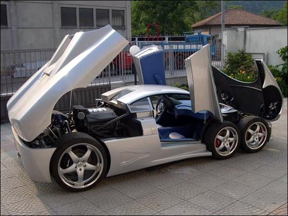 أغرب سيارة في العالم..!! B06929183509