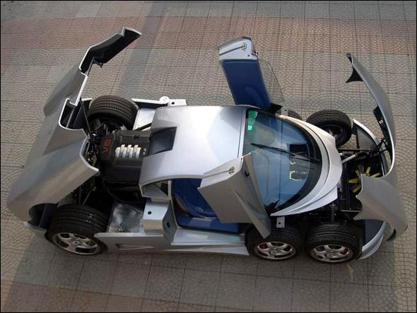 أغرب سيارة في العالم..!! B06929183515