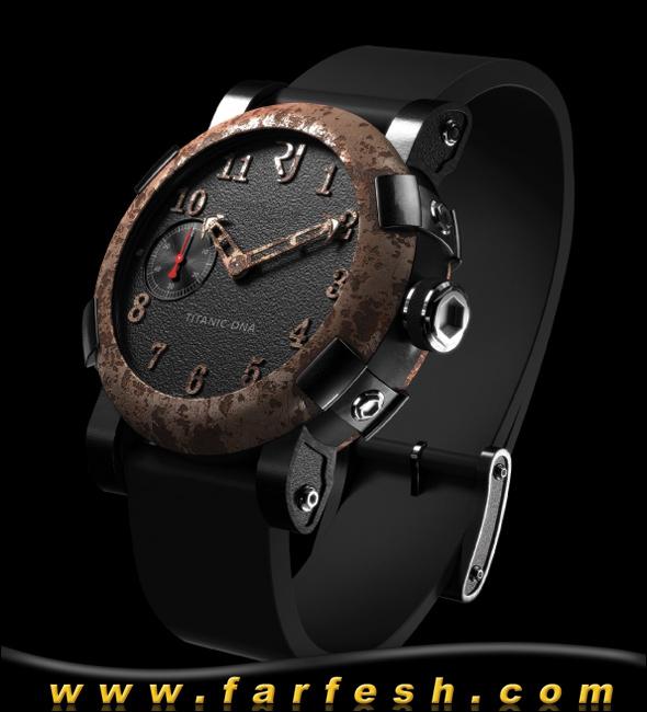 ساعات مصنوعة من حطام باخرة التيتانيك B07416101049