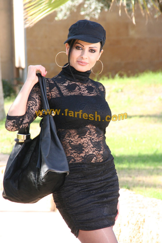 صورة رقم 8 - تحية وقبلة من الفنانة ليال عب ود إلى قر اء فرفش