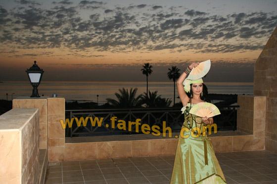 صورة رقم 7 - تحية وقبلة من الفنانة ليال عب ود إلى قر اء فرفش