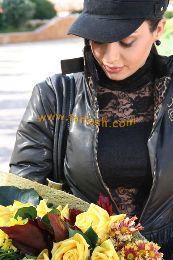 صورة رقم 6 - تحية وقبلة من الفنانة ليال عب ود إلى قر اء فرفش