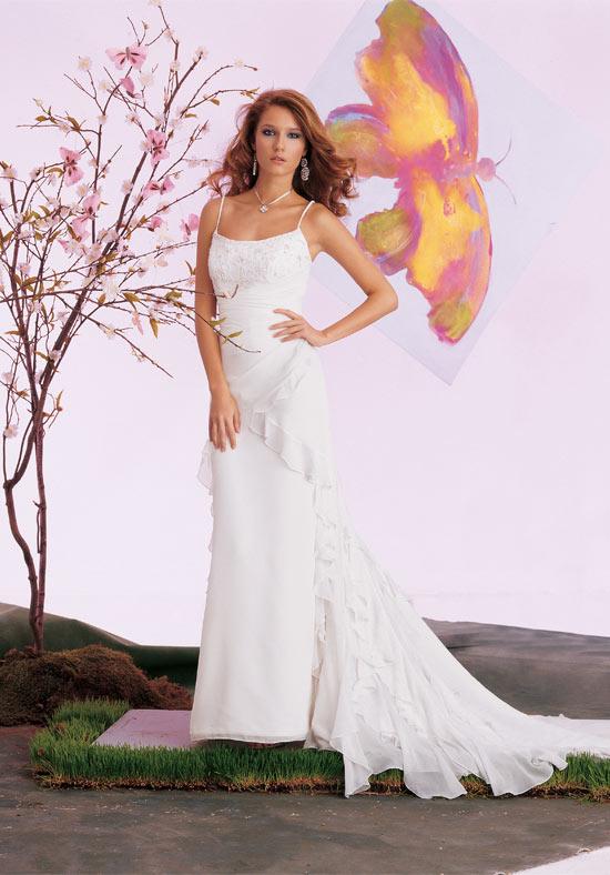 75b4789eee98d صورة رقم 1 - فساتين زفاف ناعمة لأحلى العرائس