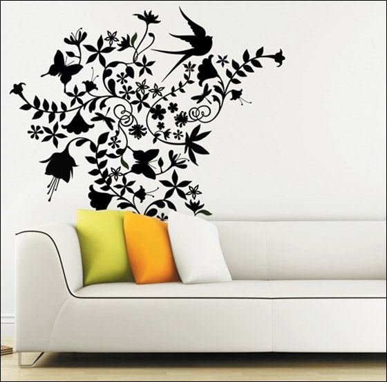 Design Photos On The Wall : Farfesh