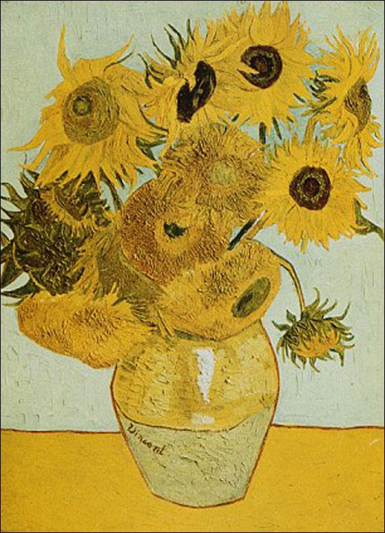 صورة رقم 6 - فنانة تعيد خلق لوحات فان غوخ عن طريق.. التوابل والبهارات