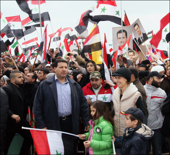 صورة رقم 4 - بعد صمت طويل.. أسماء الاسد تؤيد النظام في قمع الثورة السورية