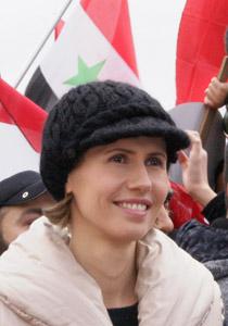 صورة رقم 1 - بعد صمت طويل.. أسماء الاسد تؤيد النظام في قمع الثورة السورية