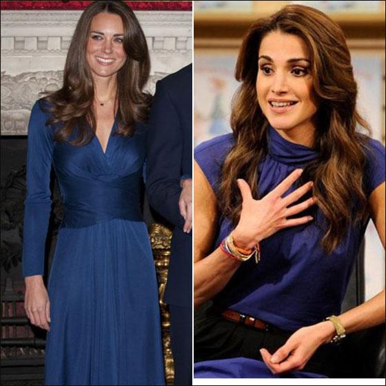 362e1629d6c8b صورة رقم 2 - كيت ميدلتون تتفوق على الملكة رانيا بالاناقة لعام 2011!