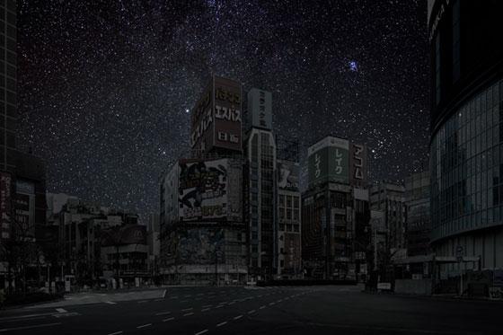 طوكيو في الظلام