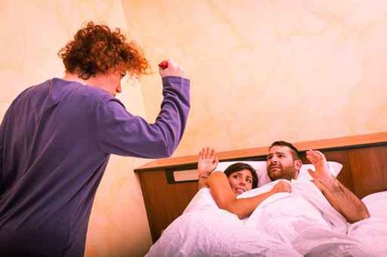 اسباب خيانة الزوجة