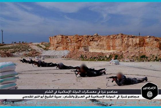 صورة رقم 6 - بالصور.. مجاهدو غزة يتدربون في معسكرات