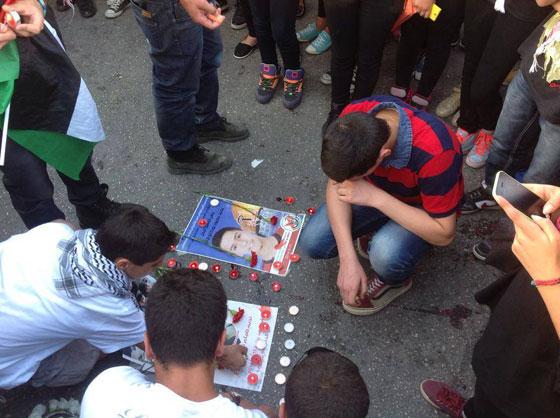 لقطات تصور اعدام جنود اسرائيل لشابين دون اي سبب صورة رقم 21