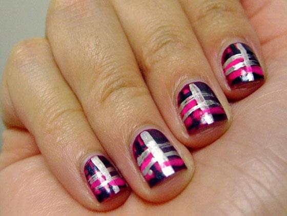 طلاء أظافر مستوحي مونديال البرازيل nails_12.jpg