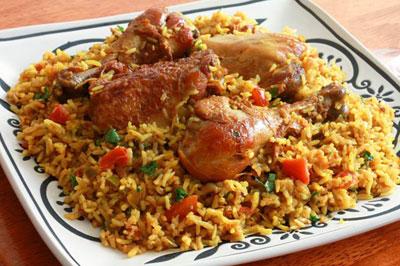 طباق رمضاني: كبسة الدجاج مع صلصة الدقوس  صورة رقم 1