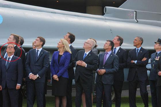 الرؤساء في واد وهولاند في واد.. صورة اضحكت الفرنسيين! 560hollande