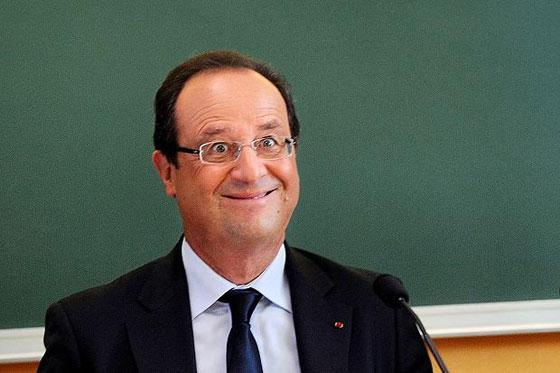 الرؤساء في واد وهولاند في واد.. صورة اضحكت الفرنسيين! 560hollande1
