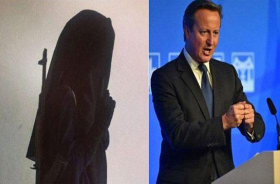 صورة رقم 2 - راس كاميرون.. مطلوب لبريطانية مجاهدة في صفوف داعش!!