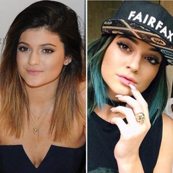 شاهد كيف تغير قصات الشعر من شكل النجوم