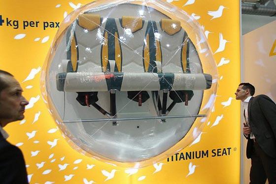 صورة رقم 5 - لهذا السبب تم تصنيع مقاعد خفيفة لطيفة لاستخدامها في الطائرات