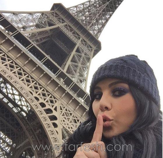 صورة رقم 2 - فيديو حنان الخضر تعود من فرنسا: انيس يعانقها ورفاييل يبعده عنها!