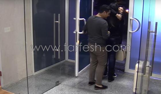 صورة رقم 9 - فيديو حنان الخضر تعود من فرنسا: انيس يعانقها ورفاييل يبعده عنها!