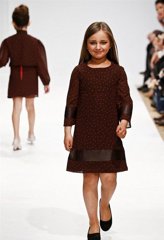 صورة رقم 5 - اصغر سيدة اعمال.. طفلة 9 سنوات جنت الملايين من عروض الازياء