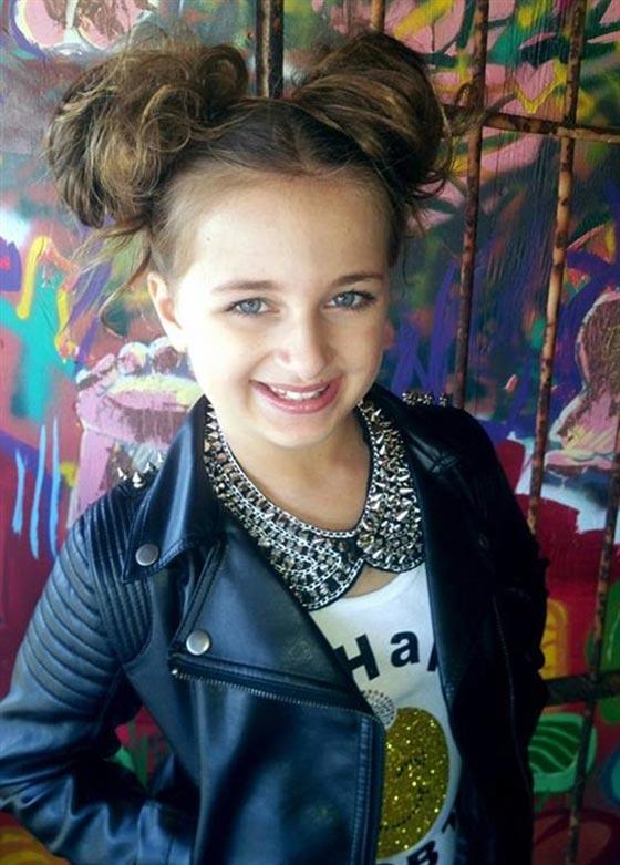 صورة رقم 6 - اصغر سيدة اعمال.. طفلة 9 سنوات جنت الملايين من عروض الازياء