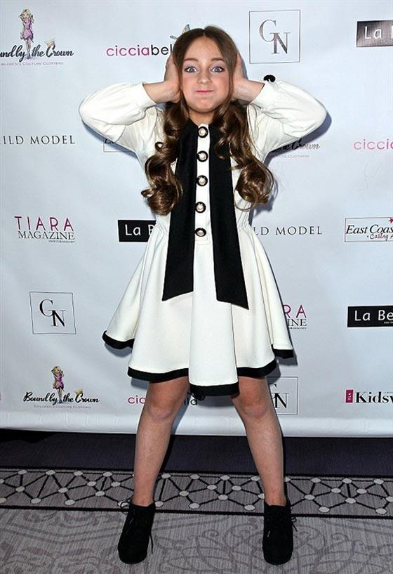 صورة رقم 4 - اصغر سيدة اعمال.. طفلة 9 سنوات جنت الملايين من عروض الازياء