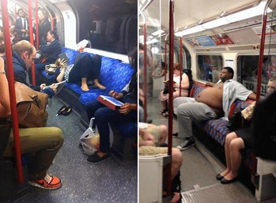 صورة رقم 8 - صور غريبة: تصرفات ركاب المواصلات العامة لم تكن تتوقعها!
