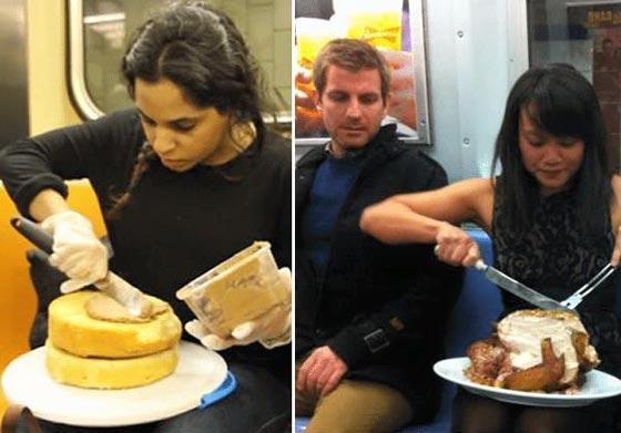 صورة رقم 9 - صور غريبة: تصرفات ركاب المواصلات العامة لم تكن تتوقعها!