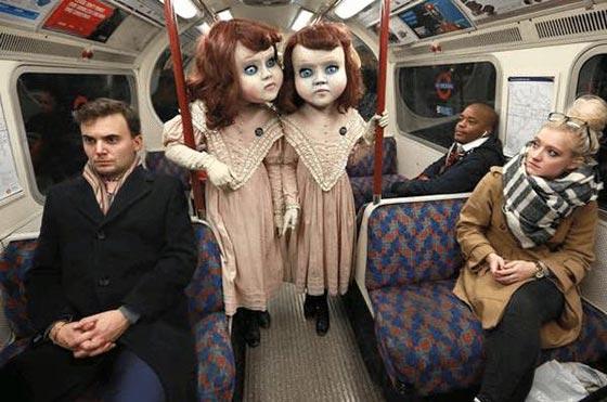 صورة رقم 10 - صور غريبة: تصرفات ركاب المواصلات العامة لم تكن تتوقعها!