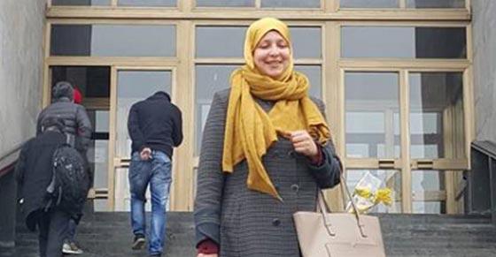 صورة رقم 8 - سمية عبد القادر. سجلو هذا الاسم. اول مسلمة برلمانية في ميلانو الايطالية