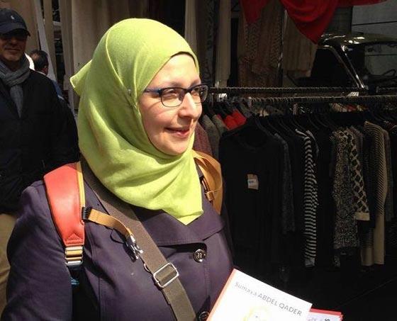 صورة رقم 7 - سمية عبد القادر. سجلو هذا الاسم. اول مسلمة برلمانية في ميلانو الايطالية