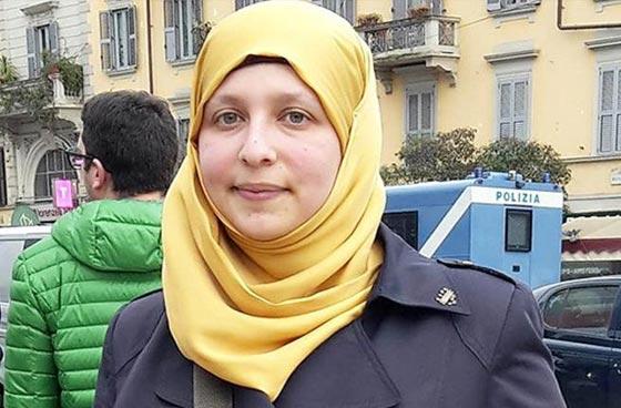 صورة رقم 1 - سمية عبد القادر. سجلو هذا الاسم. اول مسلمة برلمانية في ميلانو الايطالية