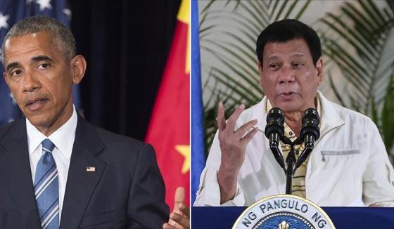 نتيجة بحث الصور عن رئيس الفلبين يصدم اوباما بعدما شتمه وقال له : يا ابن العاهرة !