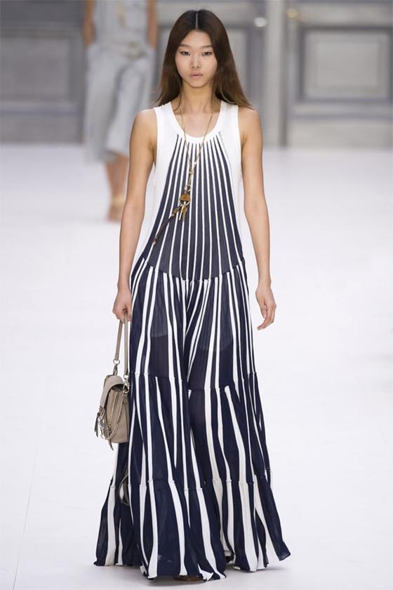 37cb22952dc80 صورة رقم 4 - منافسة بين كلوي وكينزو وايلي صعب على اجمل فستان بعروض باريس
