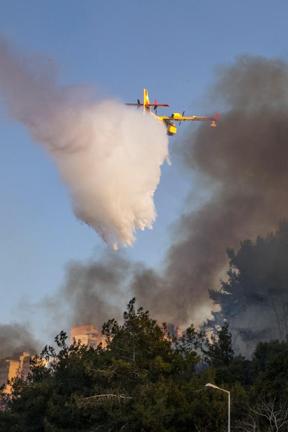 صورة رقم 12 - عجز اسرائيل في مواجهة الحرائق حجب ثقة عن نتنياهو الذي يؤثر النباح على العرب