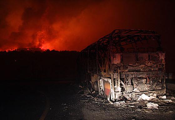 صورة رقم 20 - عجز اسرائيل في مواجهة الحرائق حجب ثقة عن نتنياهو الذي يؤثر النباح على العرب