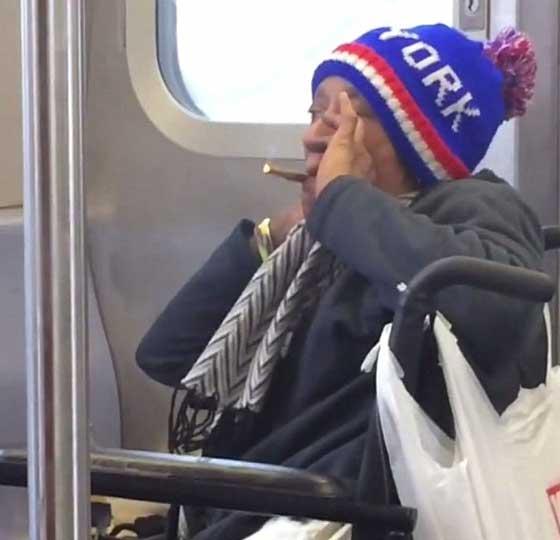 صورة رقم 1 - فيديو صادم: المخدرات والسرقات تحوّل مليونيرة إلى مشردة بنيويورك!