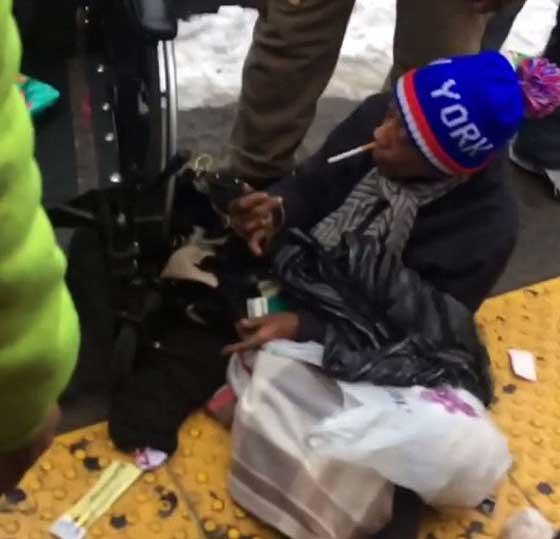 صورة رقم 3 - فيديو صادم: المخدرات والسرقات تحوّل مليونيرة إلى مشردة بنيويورك!