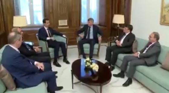 صورة رقم 1 -  هل كشف فيديو الرئيس الأسد اصابته بجلطة دماغية رغم نفي الرئاسة؟