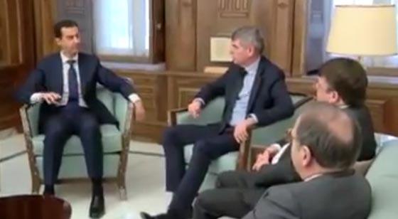 صورة رقم 2 -  هل كشف فيديو الرئيس الأسد اصابته بجلطة دماغية رغم نفي الرئاسة؟