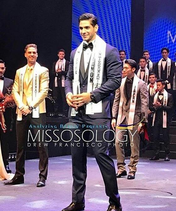 صورة رقم 1 - صور ملك جمال لبنان بول اسكندر الفائز بلقب ملك جمال العالم للرجال