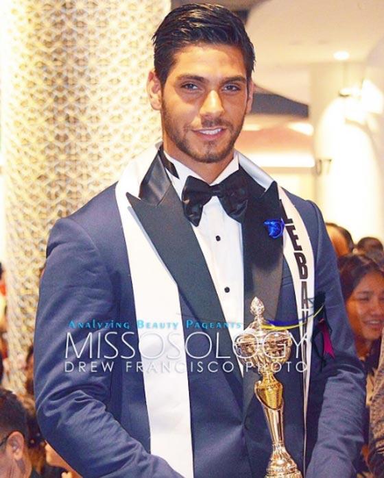 صورة رقم 3 - صور ملك جمال لبنان بول اسكندر الفائز بلقب ملك جمال العالم للرجال