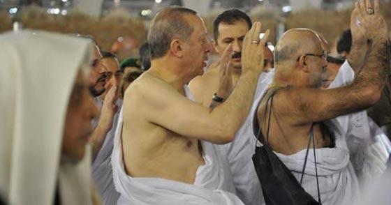 بالصور..الرئيس التركي رجب طيب أردوغان يؤدي مناسك العمرة صورة رقم 4