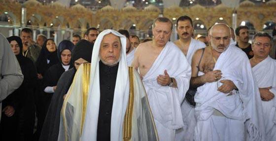 بالصور..الرئيس التركي رجب طيب أردوغان يؤدي مناسك العمرة صورة رقم 5