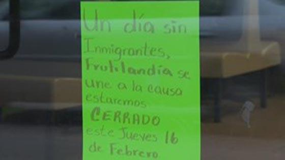 صورة رقم 5 -   مطاعم ومتاجر امريكا تغلق أبوابها اليوم تضامنًا مع المهاجرين