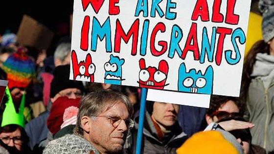 صورة رقم 2 -   مطاعم ومتاجر امريكا تغلق أبوابها اليوم تضامنًا مع المهاجرين